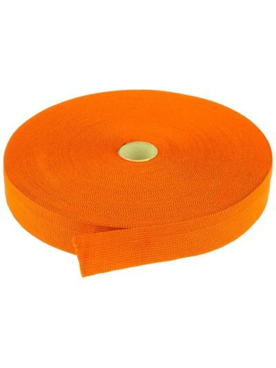 Taśma lamówkowa 25mm pomarańczowy